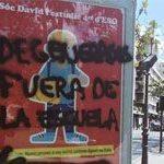 Cañizares sugiere la desobediencia civil de las leyes igualitarias mientras se multiplican las pintadas LGTBfóbicas en Valencia