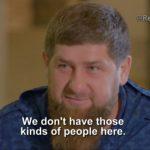 El presidente de Chechenia asegura que perdonará los «crímenes de honor» contra homosexuales cometidos por sus propias familias