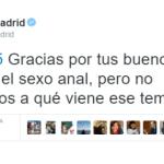 «Nos gusta el sexo anal»: la magnífica respuesta de Ahora Madrid a un usuario de Twitter que los envió «a tomar por culo»