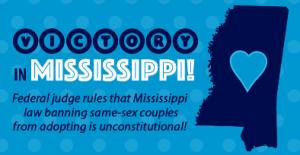 sentencia favorable adopcion en Mississippi