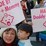 10.000 personas se manifiestan en Taiwán en contra de la aprobación del matrimonio igualitario